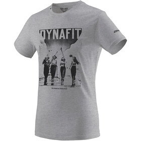 Dynafit Heritage Cotton T-Shirt À Manches Courtes Homme, nimbus melange girls